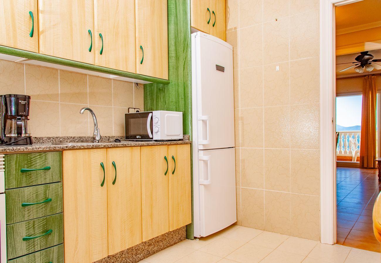 Apartamento en La Manga del Mar Menor - Castillo 1F TN 5ºA