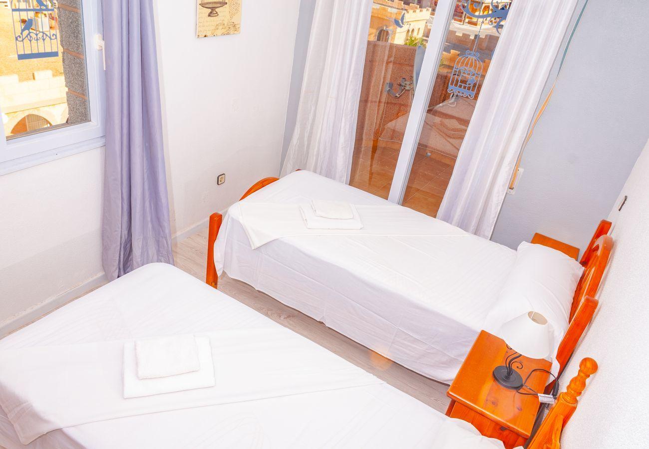 Ferienwohnung in Manga del Mar Menor - Castillo 1F TS 3ºB