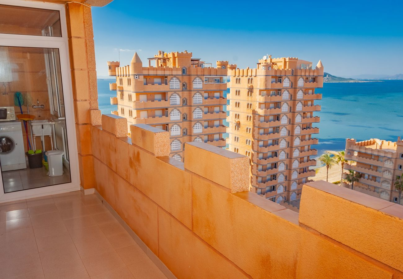 Apartment in La Manga del Mar Menor - Castillo 2F TN 11ºB
