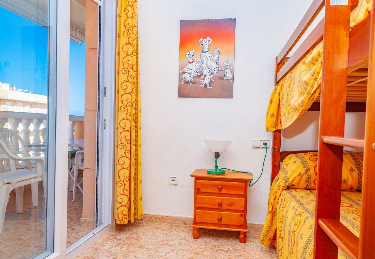 Apartment in La Manga del Mar Menor - Castillo II P14 8ºB