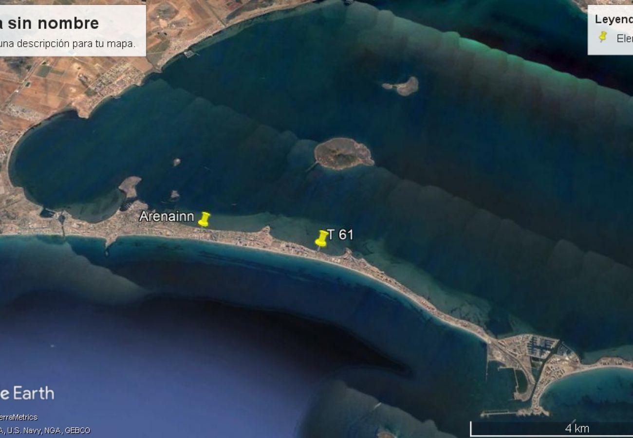 Chalet in La Manga del Mar Menor - Chalet T-61